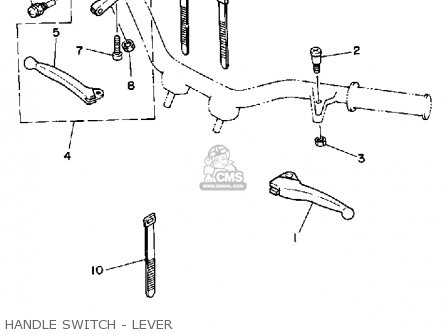Yamaha PW50 YZINGER 1992 (N) USA parts lists and schematics