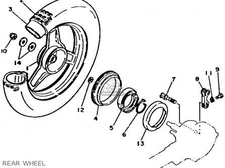 Yamaha Pw50f 1994 parts list partsmanual partsfiche