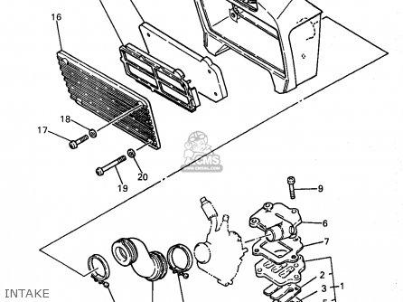 Yamaha PW80-1 1998 (W) USA parts lists and schematics