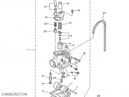 Yamaha Pw80-1 2000 (y) Usa parts list partsmanual partsfiche