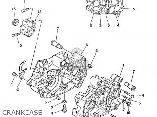 Yamaha PW80 1986 21W EUROPE 2621W-300E1 parts lists and