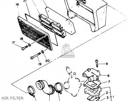 Yamaha PW80 1993 (P) USA parts lists and schematics