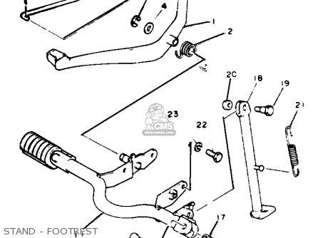 Yamaha Pw80 1993 (p) Usa parts list partsmanual partsfiche