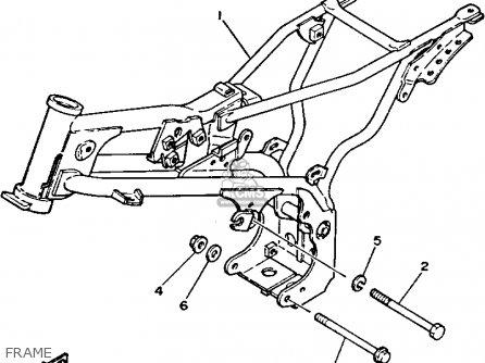 Yamaha Pw80 1994 (r) Usa Canada parts list partsmanual