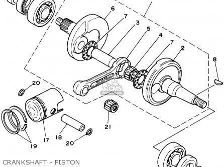 Yamaha Pw80 1995 (s) Usa parts list partsmanual partsfiche