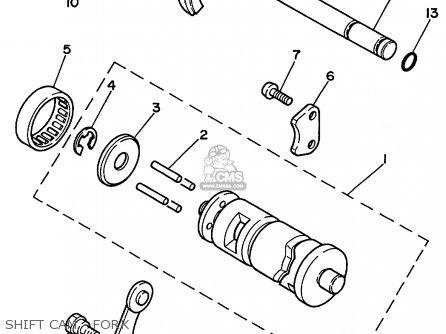 Yamaha PW80 1999 (X) USA parts lists and schematics