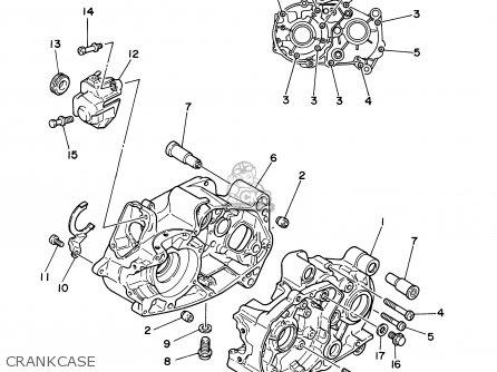 Yamaha PW80 2003 (3) USA parts lists and schematics