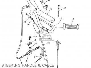 Yamaha PW80 2004 4BCE IRELAND 1C4BC-300E1 parts lists and