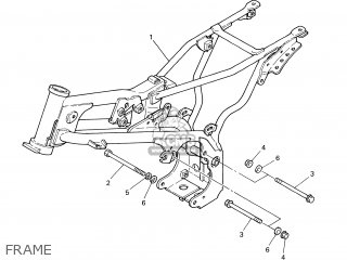 Yamaha PW80 2006 4BCG EUROPE 1E4BC-351F1 parts lists and