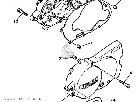 Yamaha PW80 YZINGER 1984 (E) USA parts lists and schematics