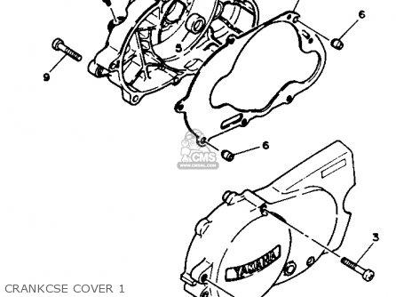 Yamaha PW80 YZINGER 1991 (M) USA parts lists and schematics