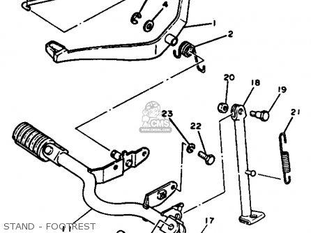 Yamaha Pw80 Yzinger 1991 (m) Usa parts list partsmanual