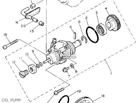 Yamaha Pw80d Y-zinger 1992 parts list partsmanual partsfiche