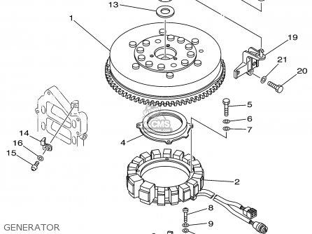 Yamaha PX150TRX 1999 parts lists and schematics