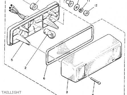 Yamaha Pz480ep Phazer 1990 parts list partsmanual partsfiche