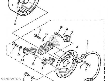 Yamaha Motorcycles Xt 600 Wiring Diagram XT 250 Wiring