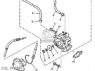 Yamaha Pz480l Phazer 1989 parts list partsmanual partsfiche