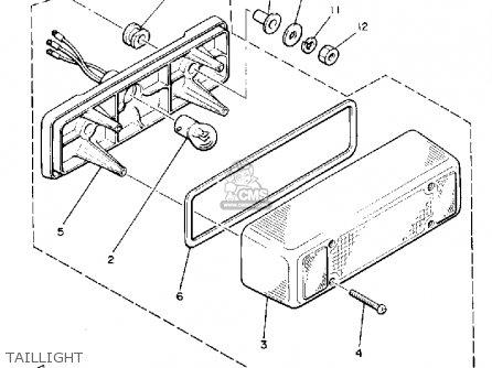 Yamaha Pz480p Phazer 1990 parts list partsmanual partsfiche