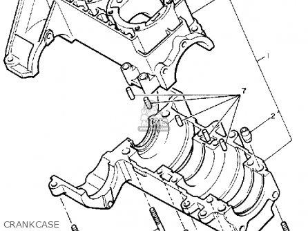 Yamaha Pz480seh Phazer Special 1984 parts list partsmanual