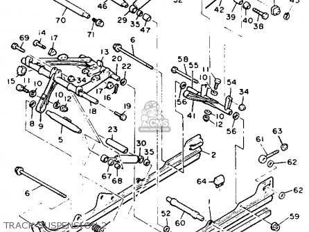 Yamaha PZ480T PHAZER 1993 parts lists and schematics