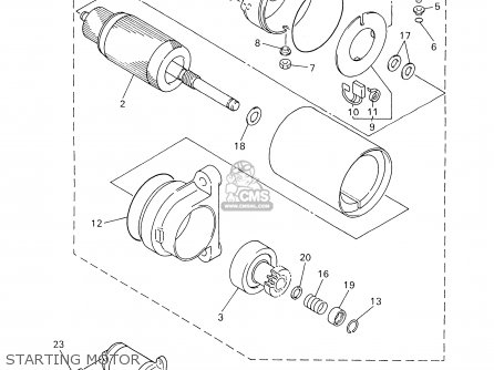 Yamaha PZ500DXF 2001 parts lists and schematics