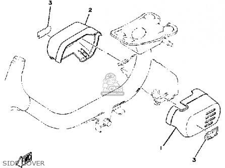 Yamaha Qt50 2g 1980/1981 Usa parts list partsmanual partsfiche