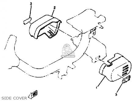 Yamaha QT50 L 1984/1985 USA parts lists and schematics