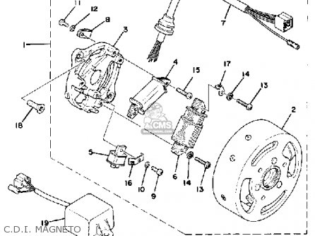 Yamaha Cdi Box Wiring Diagram Yamaha ATV Wiring Diagram
