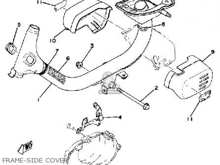 Yamaha QT50G 1979/1980 USA parts lists and schematics