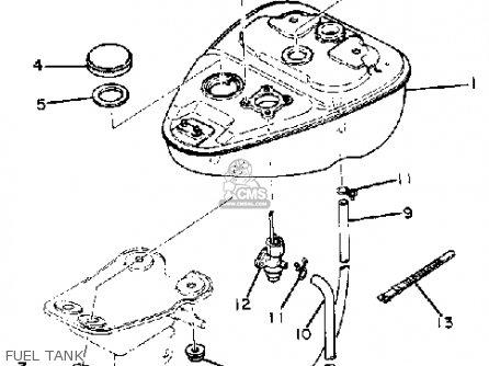 Yamaha Qt50j Yamahopper 1982/1983 parts list partsmanual