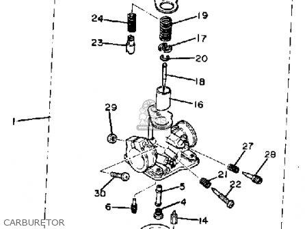Yamaha QT50J YAMAHOPPER 1982/1983 USA parts lists and