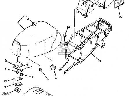Yamaha Qt50k Yamahopper 1982/1983 Usa parts list
