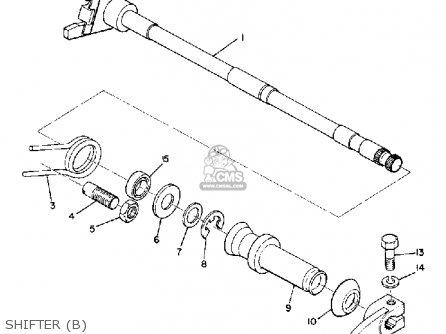 Yamaha R3 1969 parts list partsmanual partsfiche