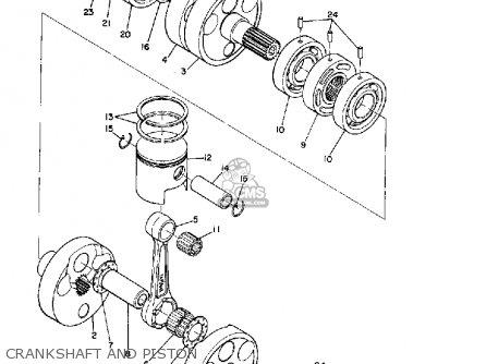 Yamaha R3 1969 Usa parts list partsmanual partsfiche