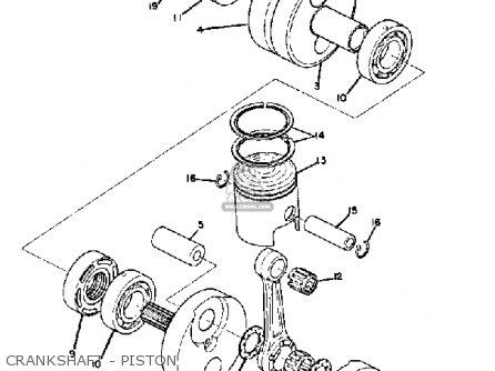 Yamaha R5 1970 USA parts lists and schematics