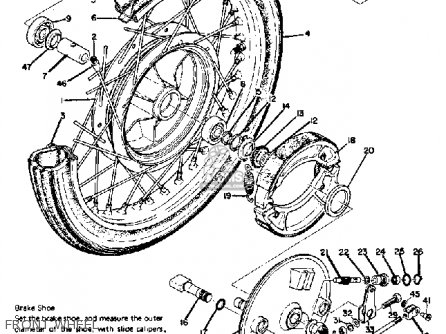 Yamaha R5 1970 USA parts lists and schematics