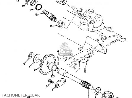 Yamaha R5B 1971 USA parts lists and schematics