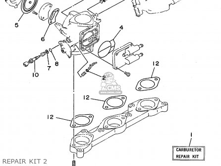 Yamaha RA1100T 1995 USA parts lists and schematics