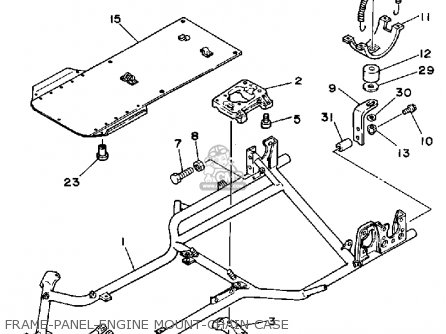 Yamaha RC100SF RACE KART parts lists and schematics