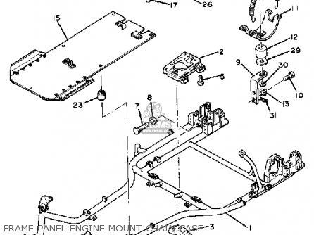 Yamaha Rc100s/kt100s Race Kart parts list partsmanual