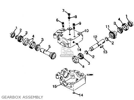 Yamaha Rc42 Rt38 Fm48 Attachment parts list partsmanual