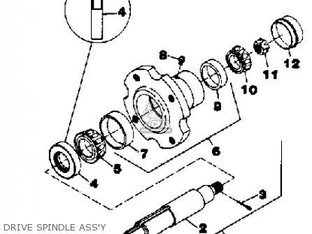 Yamaha Rc42/rt38/fm48 Attachment parts list partsmanual
