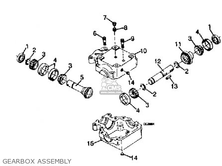 Yamaha Rc42/rt38/fm48 Attachment parts list partsmanual
