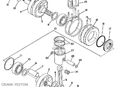 Yamaha RD125 1975 USA parts lists and schematics