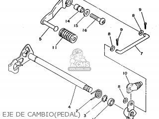 Yamaha Rd125lc 1986 1gl Spain 261gl-352s1 parts list partsmanual partsfiche