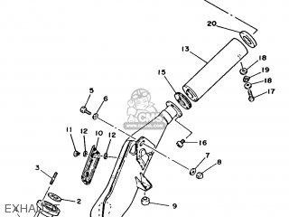 Yamaha Rd125lc 1986 1gl Spain 261gl-352s1 parts list
