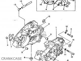 Yamaha Rd125lc 1986 1gu Switzerland 261gu-361e1 parts list