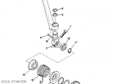 Yamaha RD200 1975 USA parts lists and schematics