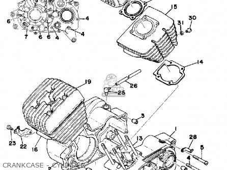 Yamaha RD200 1976 USA parts lists and schematics