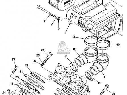 Yamaha Rd200a 1974/1975 parts list partsmanual partsfiche
